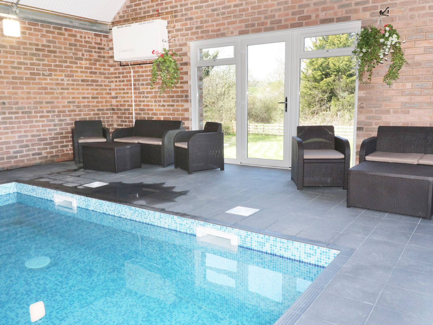 Home Farm Swimming Pool Seating Area