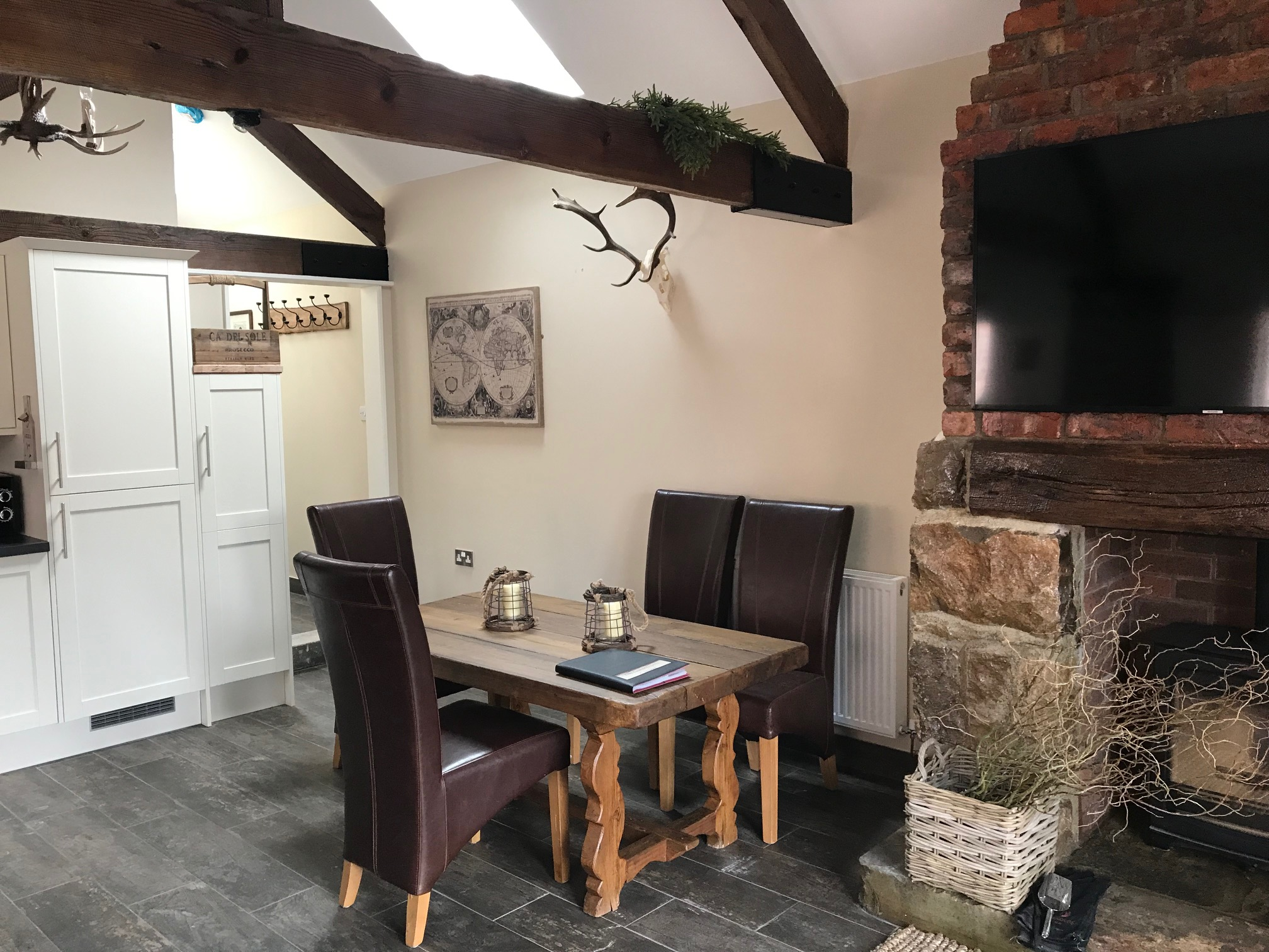 The Gamekeepers Cottage Dining Area