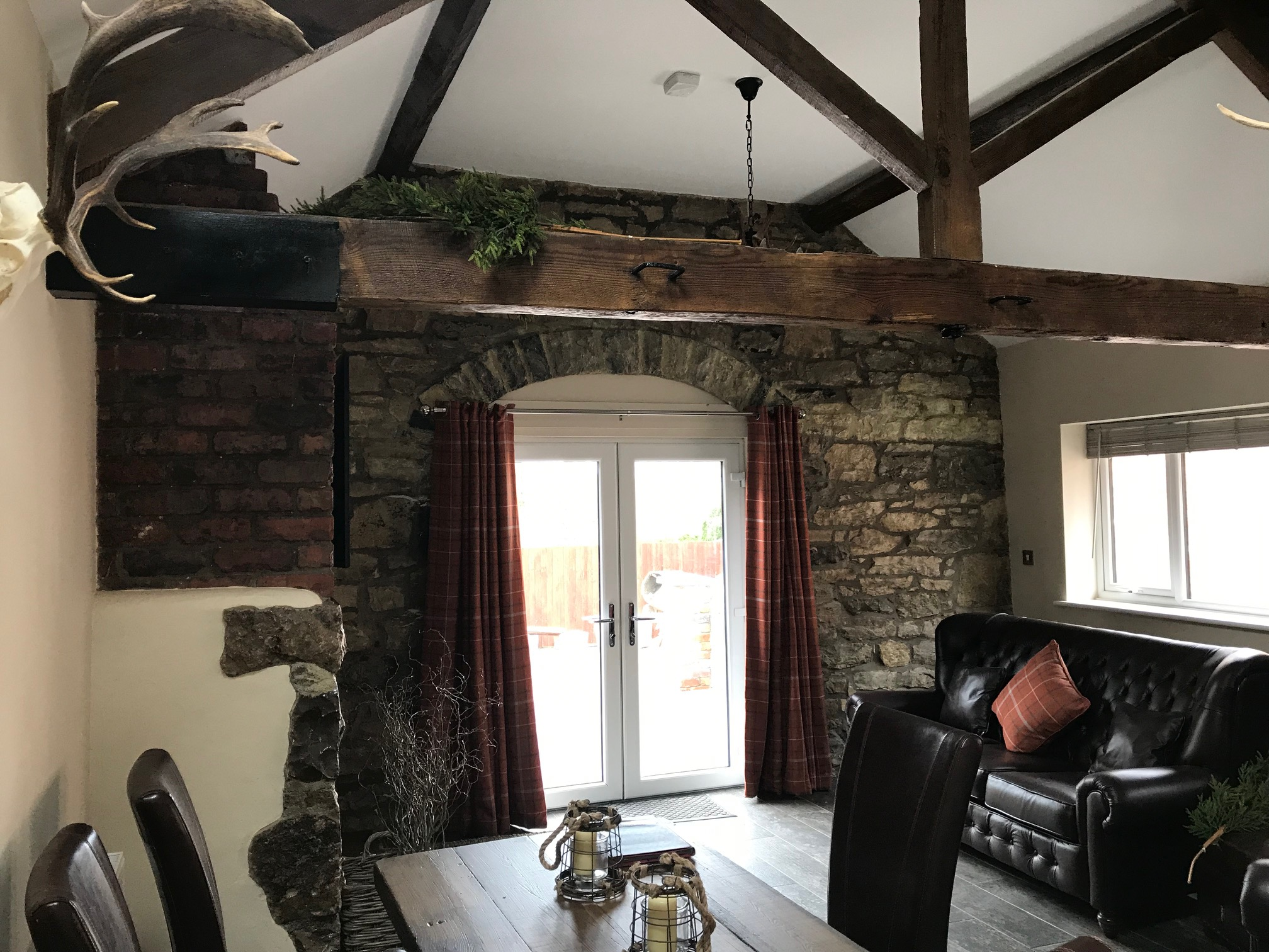 The Gamekeepers Cottage Living Area